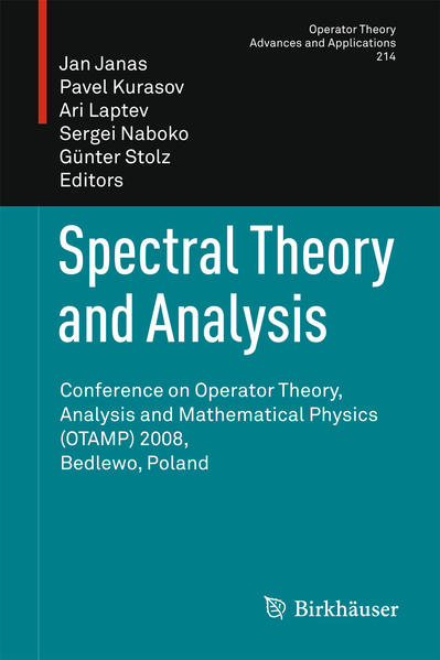 Spectral Theory and Analysis - Coverbild