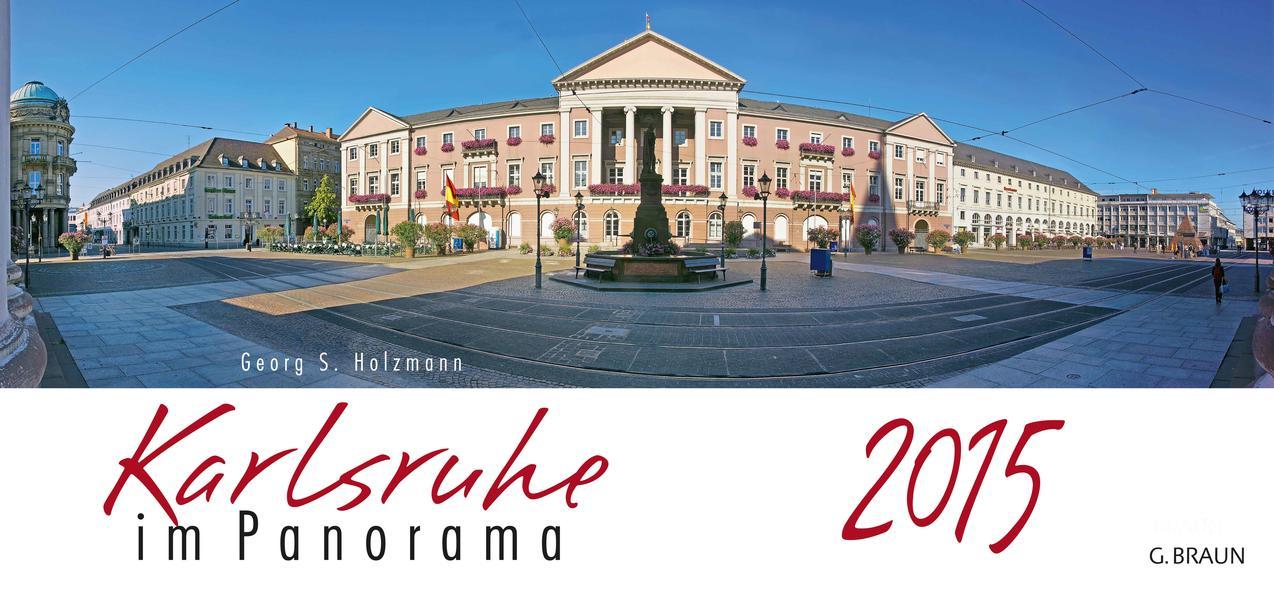 Kalender Karlsruhe im Panorama 2015 - Coverbild