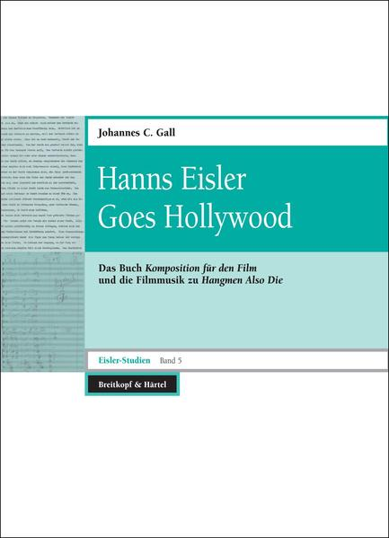 Hann Eisler Goes Hollywood - Coverbild