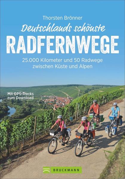 Deutschlands schönste Radfernwege - Coverbild