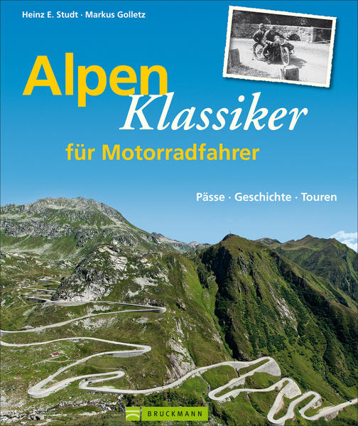 Alpenklassiker für Motorradfahrer - Coverbild