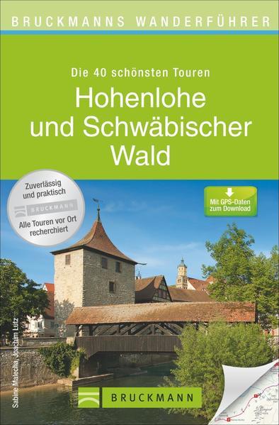 Bruckmanns Wanderführer Hohenlohe und Schwäbischer Wald - Coverbild