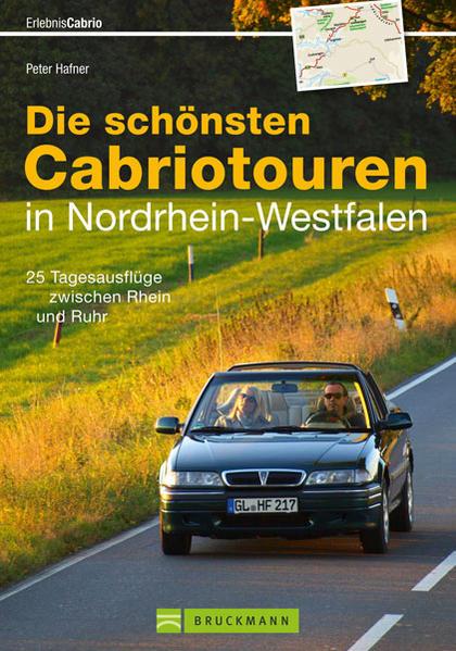 Die schönsten Cabriotouren in Nordrhein-Westfalen - Coverbild