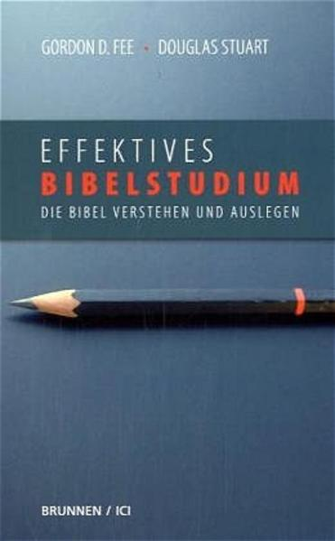 Effektives Bibelstudium - Coverbild
