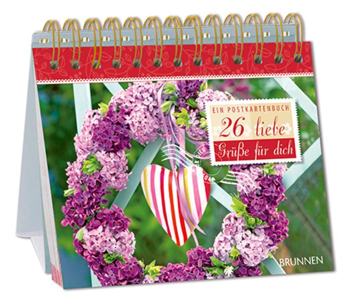 26 liebe Grüße - Ein Postkartenbuch - Coverbild