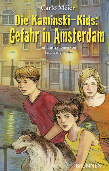 Die Kaminski-Kids: Gefahr in Amsterdam - Coverbild