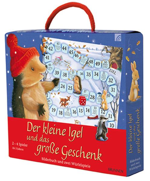 Spielkoffer: Der kleine Igel und das große Geschenk - Coverbild