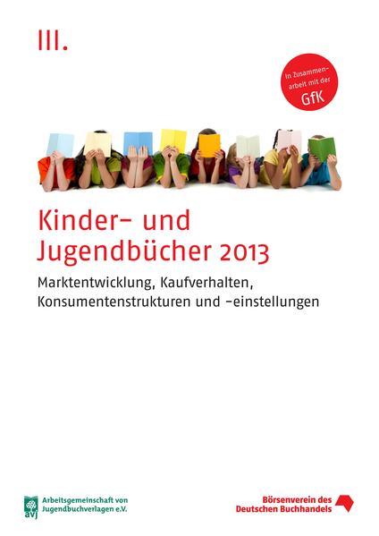 Kinder- und Jugendbücher 2013 - Coverbild