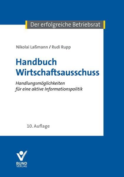Handbuch Wirtschaftsausschuss - Coverbild