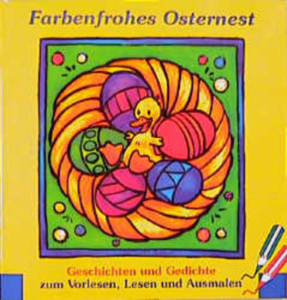 Farbenfrohes Osternest - Coverbild