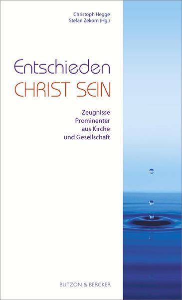 Entschieden Christ sein - Coverbild