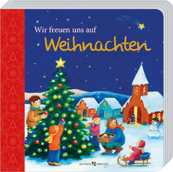 Wir freuen uns auf Weihnachten - Coverbild