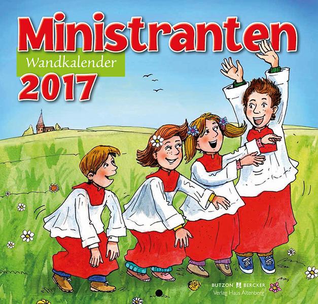 Ministranten-Wandkalender 2017 - Coverbild