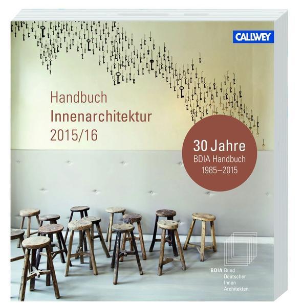 BDIA Handbuch Innenarchitektur 2015/16 - Coverbild