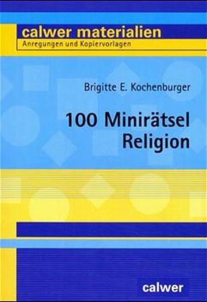 100 Minirätsel Religion - Coverbild