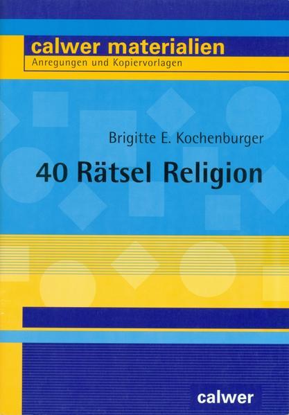 40 Rätsel Religion - Coverbild