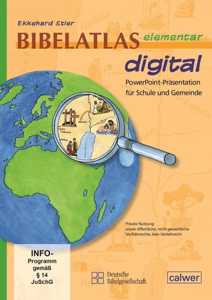 Bibelatlas elementar digital - Coverbild