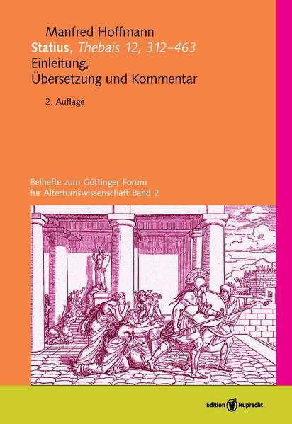 Statius, Thebais 12, 312–463 - Coverbild