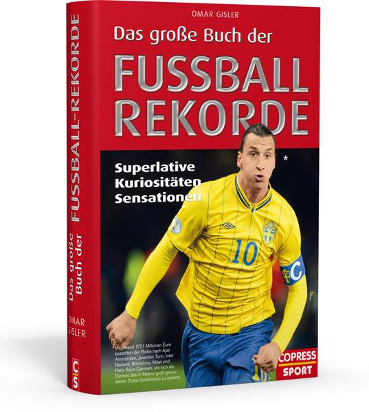 Das große Buch der Fußball-Rekorde - Coverbild