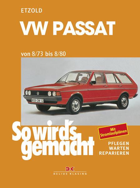 VW Passat 8/73 bis 8/80 - Coverbild