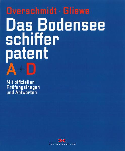 Das Bodensee-Schifferpatent A + D - Coverbild