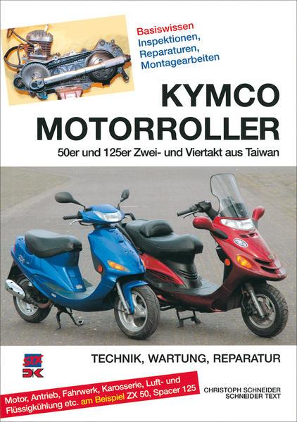 Kymco Motorroller - Coverbild