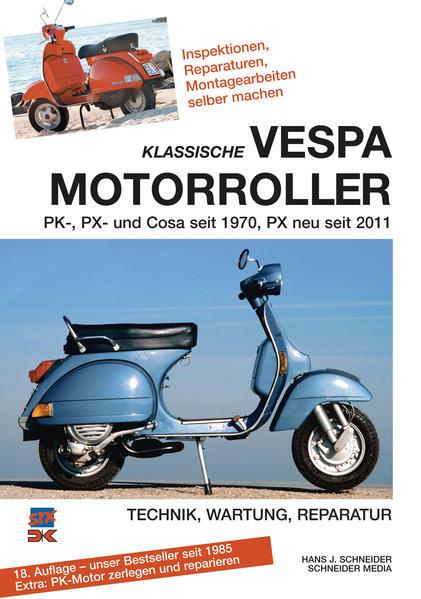 Klassische Vespa Motorroller - Coverbild