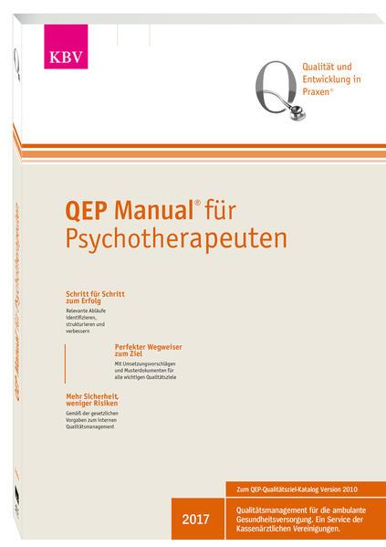 QEP® Manual für Psychotherapeuten - Coverbild