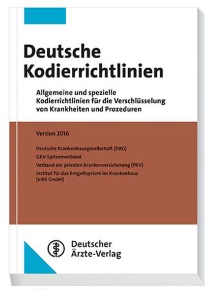 Deutsche Kodierrichtlinien - Coverbild