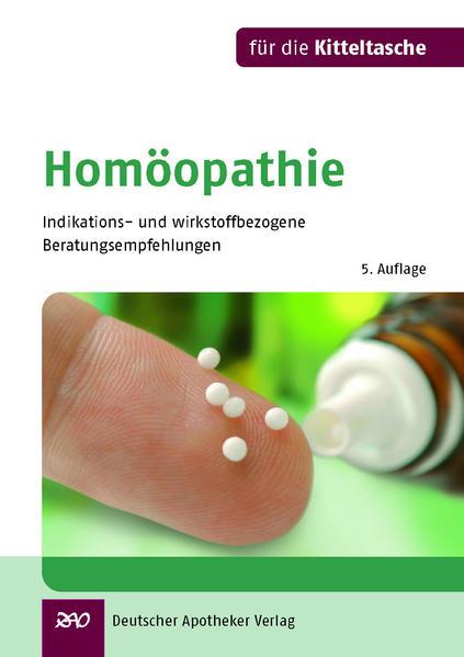 Homöopathie für die Kitteltasche - Coverbild