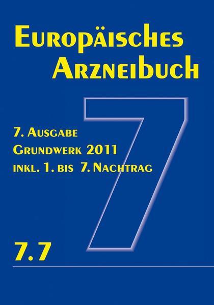 Europäisches Arzneibuch 7. Ausgabe 2011  inkl. Nachtrag 7.7 - Coverbild