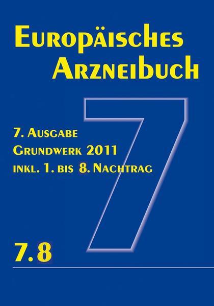 Europäisches Arzneibuch 7. Ausgabe 2011  inkl. Nachtrag 7.8 - Coverbild