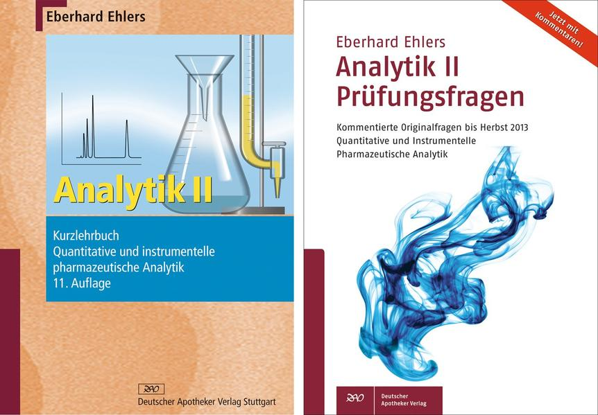 Analytik II - Kurzlehrbuch und Prüfungsfragen - Coverbild