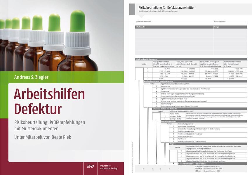 Arbeitshilfen Defektur mit Risikobeurteilungs-Block - Coverbild