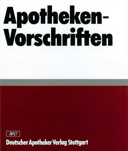 Apotheken-Vorschriften in Sachsen - Coverbild