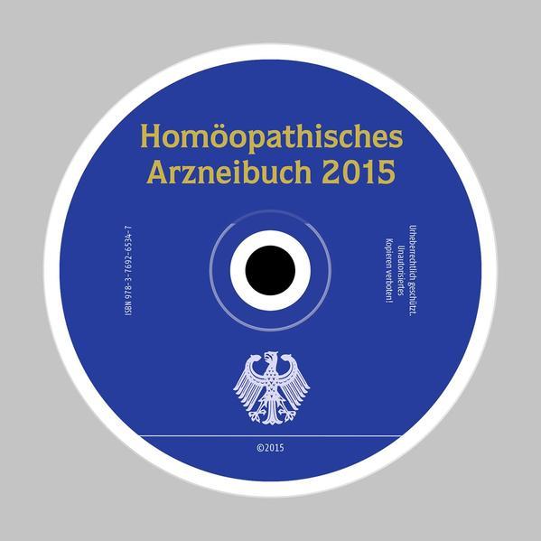 Homöopathisches Arzneibuch 2015 (HAB 2015) CD-ROM - Coverbild