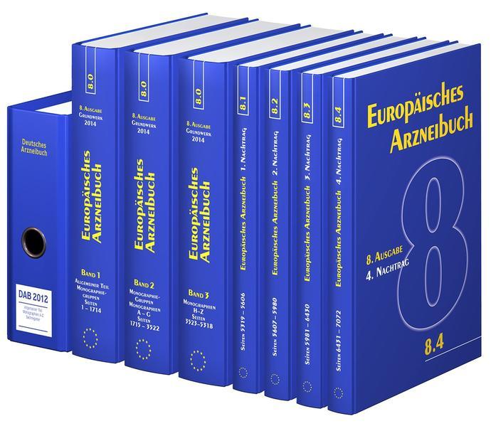 Deutsches und Europäisches Arzneibuch - Coverbild