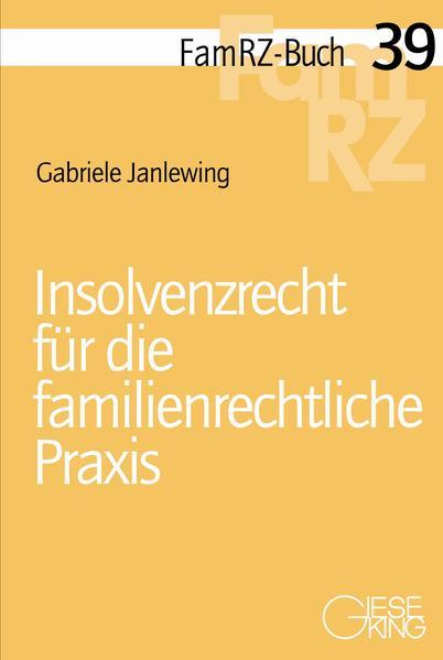 Insolvenzrecht für die familienrechtliche Praxis - Coverbild