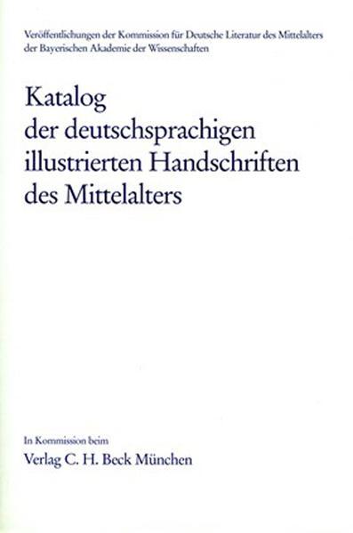 Katalog der deutschsprachigen illustrierten Handschriften des Mittelalters Band 5/1, Lfg. 3: 43 - Coverbild