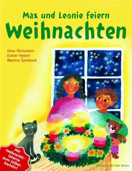 Max und Leonie feiern Weihnachten - Coverbild