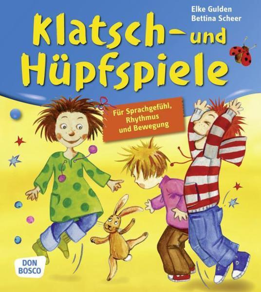 Klatsch- und Hüpfspiele - Coverbild