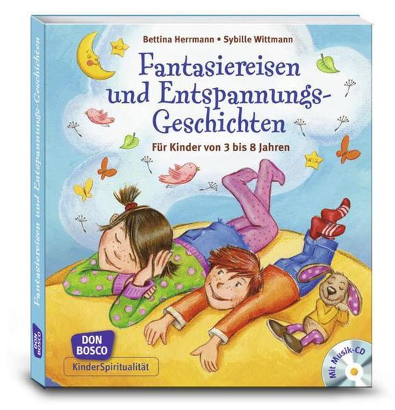 Fantasiereisen und Entspannungsgeschichten, m. Audio-CD - Coverbild