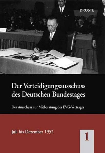 Der Bundestagsausschuss für Verteidigung und seine Vorläufer / Der Bundestagsausschuss für Verteidigung und seine Vorläufer - Coverbild