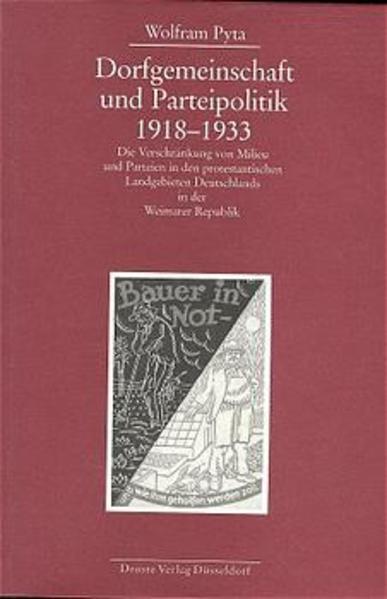 Dorfgemeinschaft und Parteipolitik 1918-1933 - Coverbild