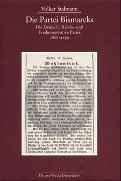 Die Partei Bismarcks - Coverbild