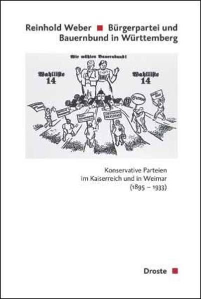 Bürgerpartei und Bauernbund in Württemberg - Coverbild