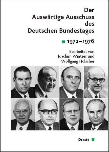 Der Auswärtige Ausschuss des Deutschen Bundestages. Sitzungsprotokolle seit 1949 - Coverbild