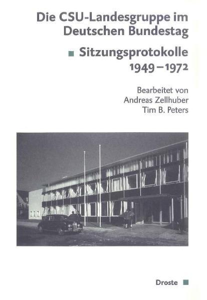 Die CSU-Landesgruppe im Deutschen Bundestag - Coverbild