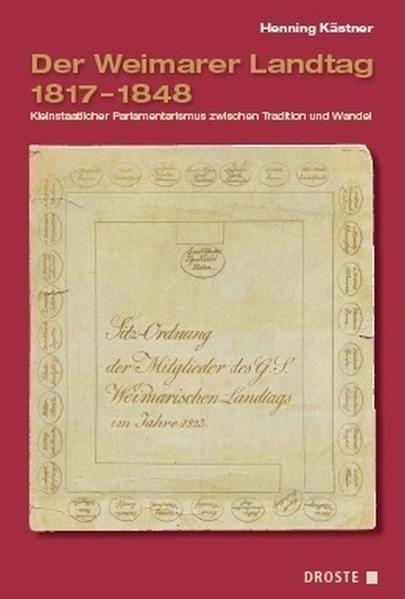 Der Weimarer Landtag 1817-1848 - Coverbild
