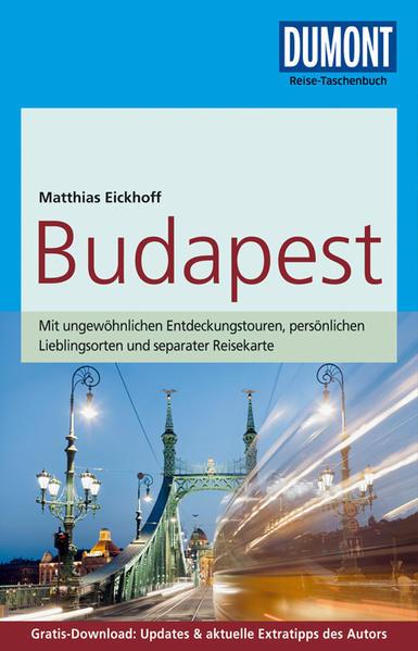 DuMont Reise-Taschenbuch Reiseführer Budapest - Coverbild